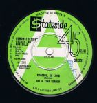 Ike & Tina Turner Goodbye So Long Hurt Is All You Gave Me Stateside uk Demo EX+